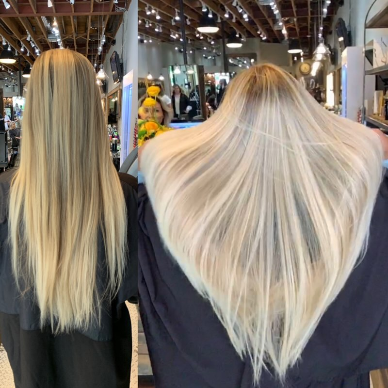 AirTouch Hair Technique   Before and After by Avant Garde Salon and Spa