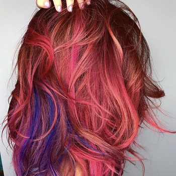 Funky Hair Colors - Mermaid Hair / Unicorn Hair