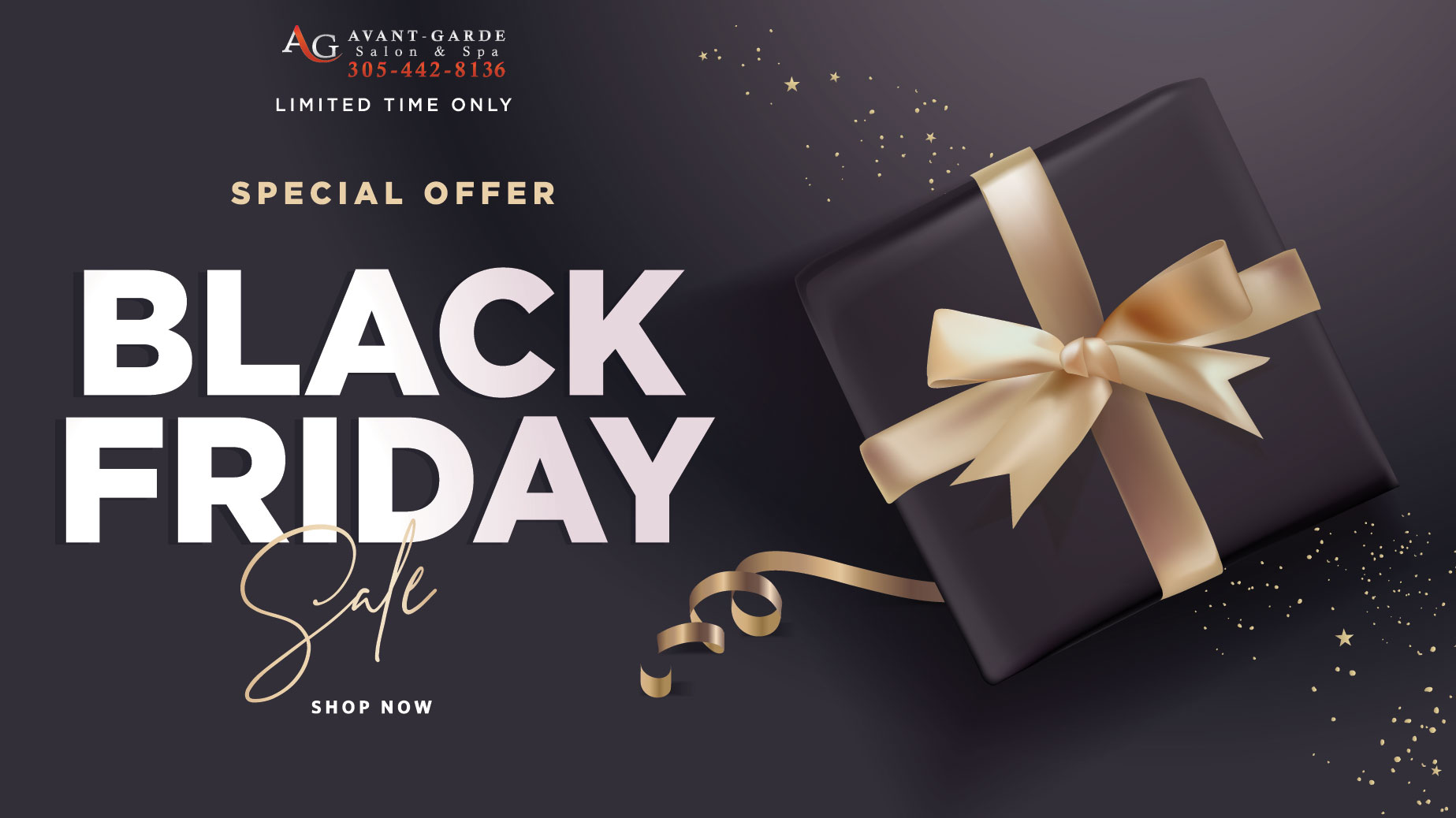 Black Friday Sale | Avant Garde Salon Gift Cards