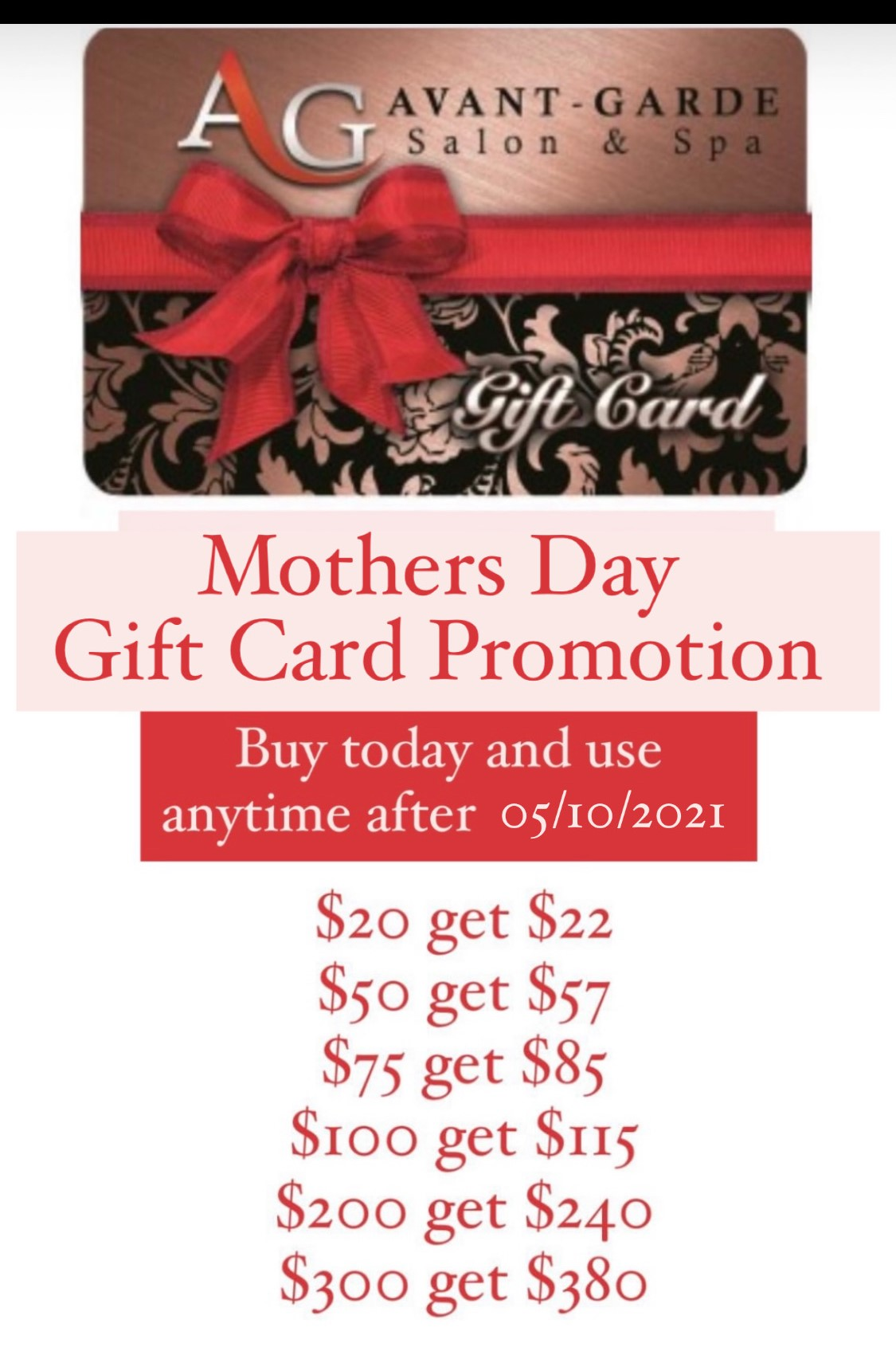 Save on Mothers Day Gift Card Deals!