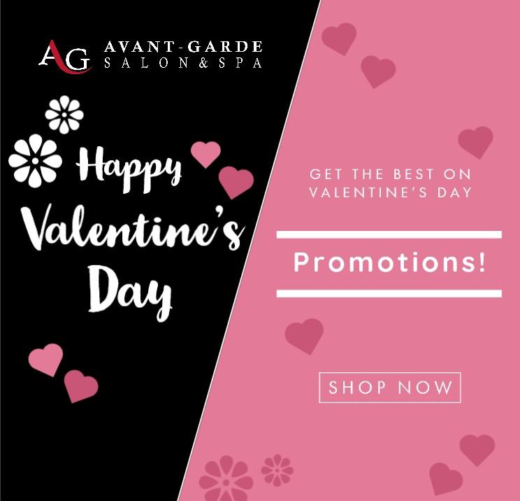 Valentines Salon Promotions Hair & Nails