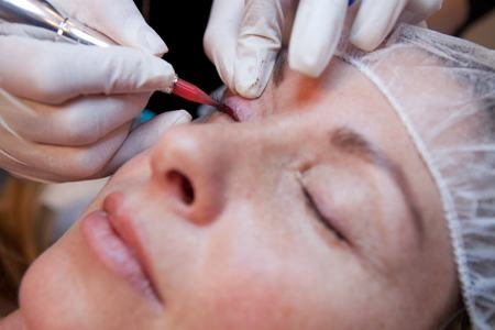Permanent Makeup Application