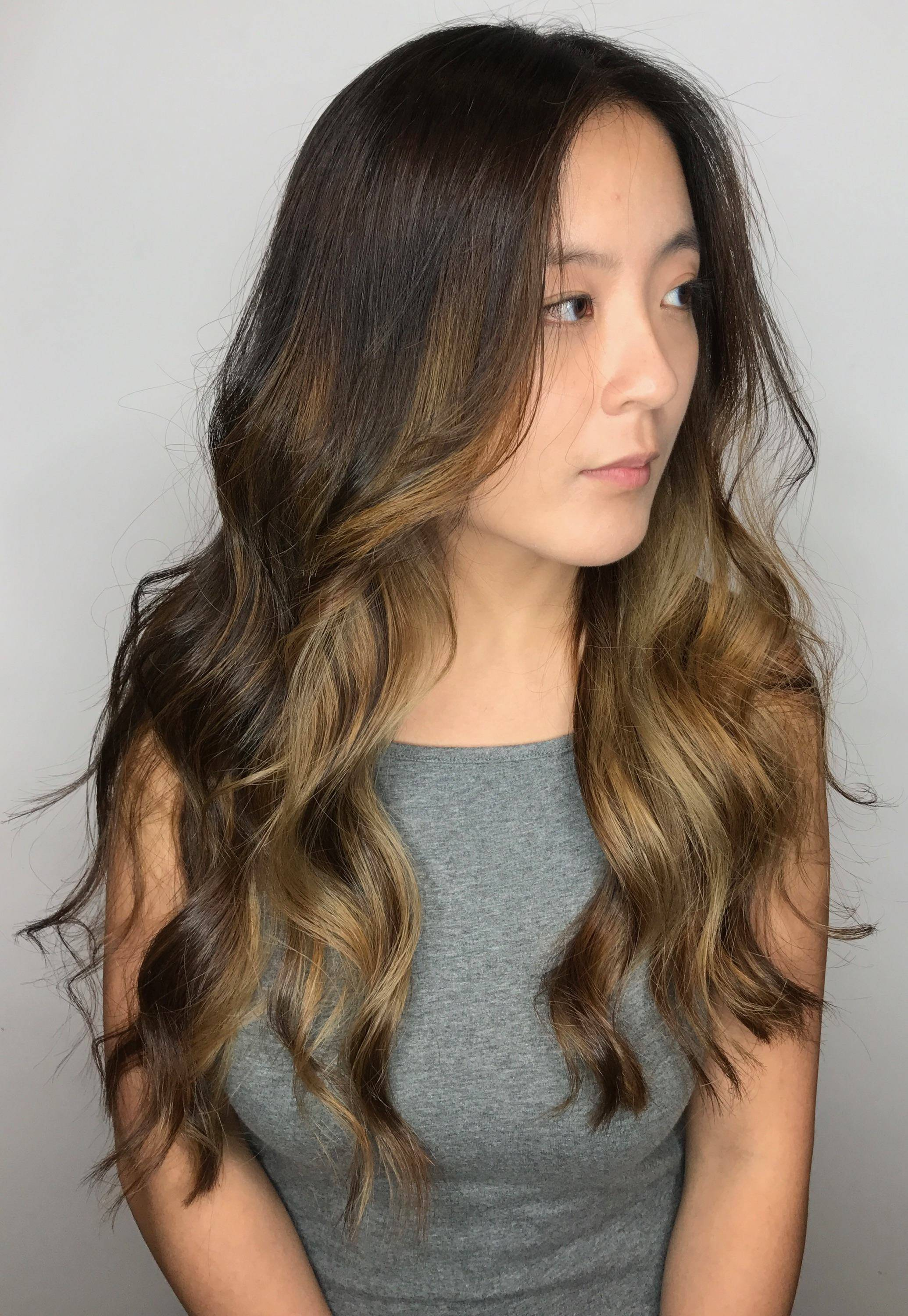 Hair Coloring Services Highlights Ombre Foilyage Balayage Miami