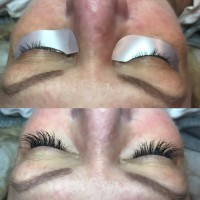 Eyelashes Before & After Gorgeous Lashes