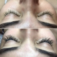 Eyelashes Befoe & After Lush Lashes