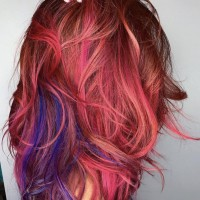 Funky Hair Coloring Salon Services