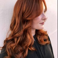 Red Copper Colored Hair