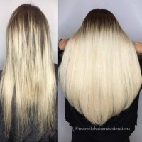 Keratin Bond Hair Extensions Great Lengths Hair Extensions Salon Miami