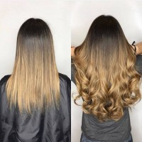 Real Hair Bonds Hair Extensions