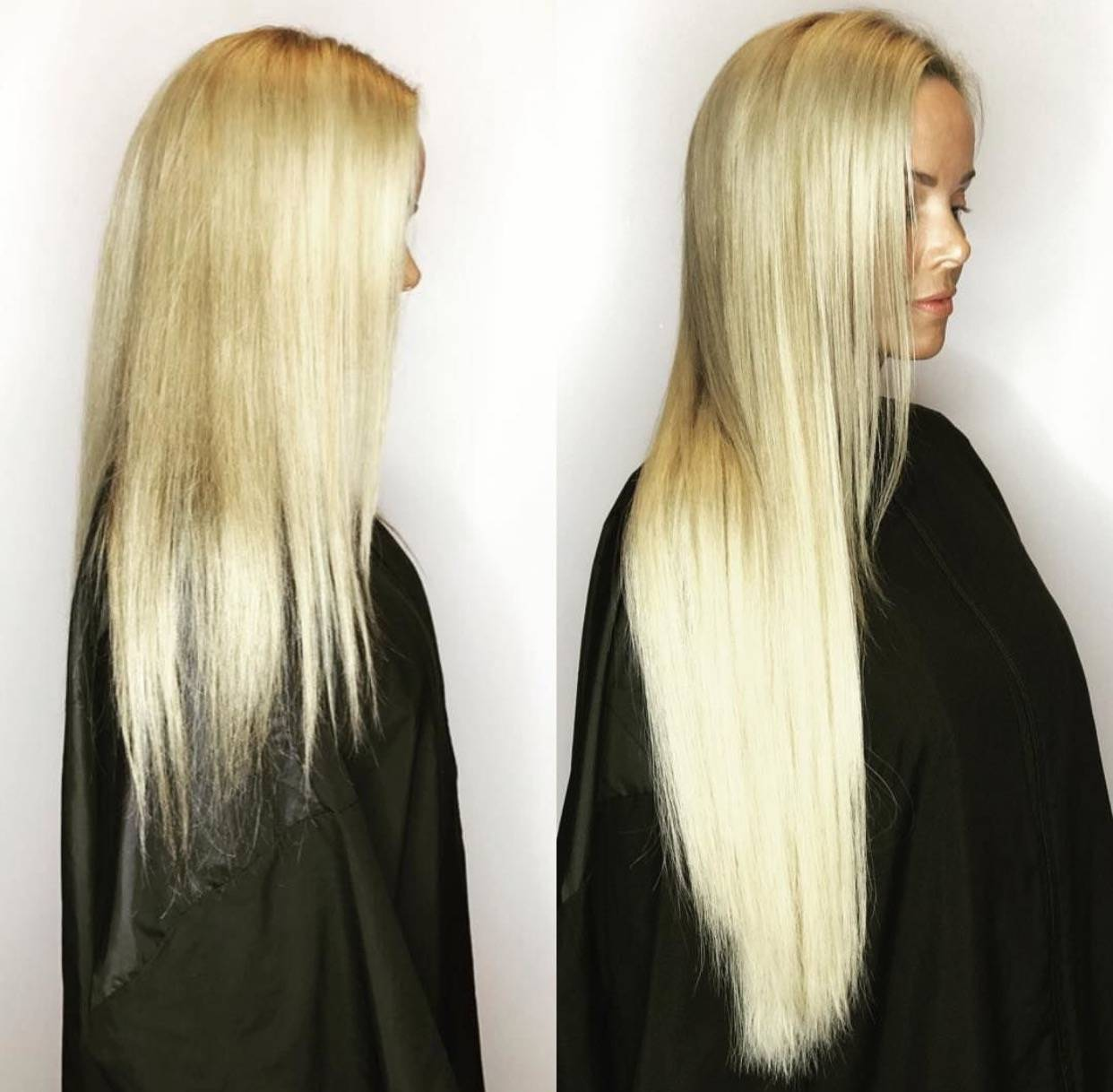 Keratin Tip Great Lengths Hair Extensions Cold Fusion Bonded Hair