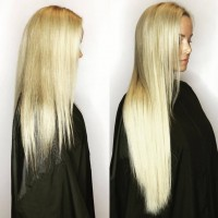 Styled Hair Extensions Bonds - Professionally Installed Hair Extensions