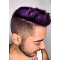 Haircut and Color for Men