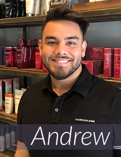 Andrew - Salon Assistant
