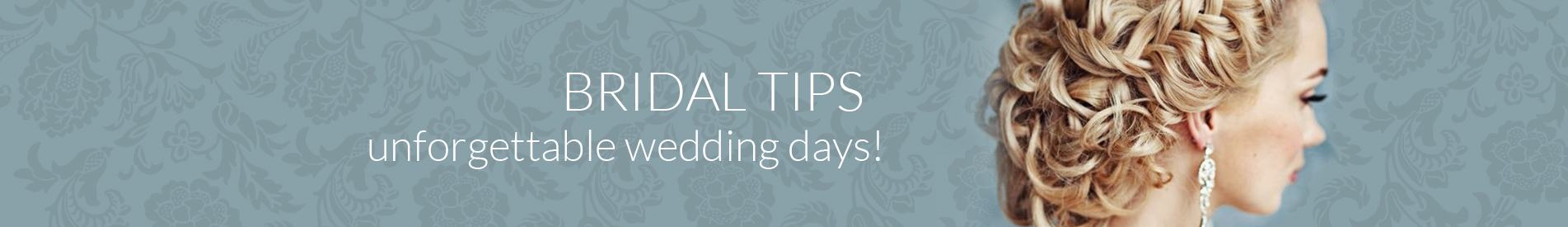 Hair and Beauty Bridal Tips