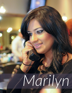 Marilyn - Salon Front Desk