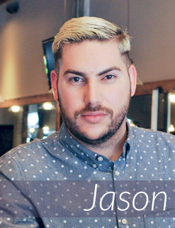 Jason - Salon Front Desk