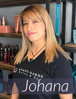 Johana - Salon Assistant
