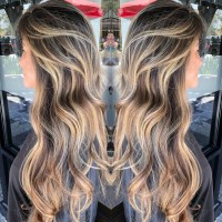 Hair Balayage Before and After