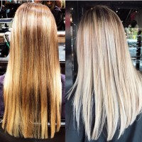 Color Professional Correction Hair Before and After