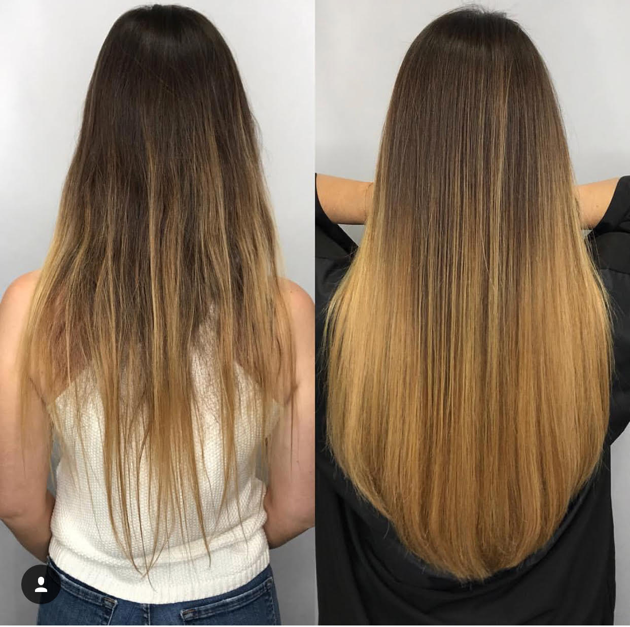 Hair Extensions Gallery Latest Hair Extension Salon Installations