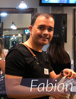 Fabian - Professional Hair Stylist & Coloring Expert at Avant-Garde Salon and Spa