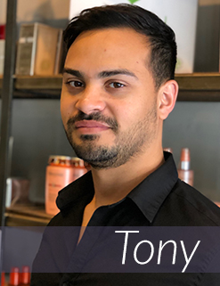 Tony - Front Desk Salon Assistant