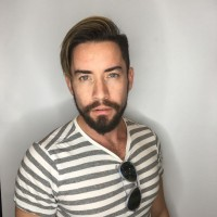 trendy men haircut salon miami