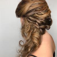 bridal updo coral gables salon