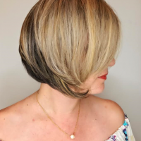 ash tones and bob haircut miami salon