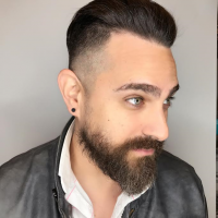 trendy mens haircut miami salon