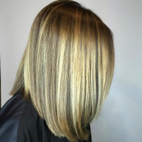 balayage lob miami salon