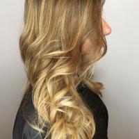 balayage long hair coral gables salon