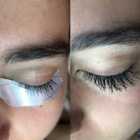 Lashes and eyeshadow Makeup Salon