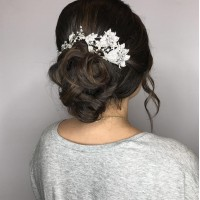 Hair Bun and Styling in Coral Gables