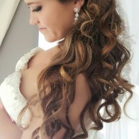 bridal waves hair style miami salon