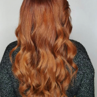 Red Hair Color - Hair Salon Coral Gables