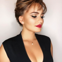 updo hair style and makeup salon miami