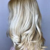 light blonde balayage coral gables salon