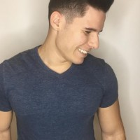 trendy men haircut