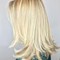 full highlights blonde tones miami salon