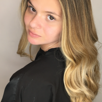 blonde balayage coral gables salon