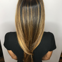 balayage highlights long hair