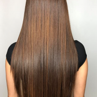 long brown hair miami salon