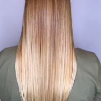 perfect blonde balayage