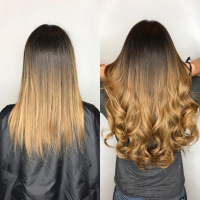 great lengths extensions with balayage