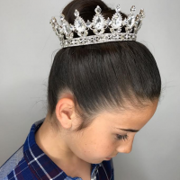 flower girl hairstyle coral gables miami