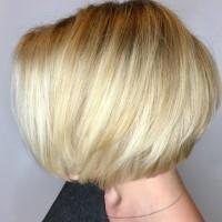 blonde bob miami salon