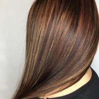 Bronze tones Colored Hair