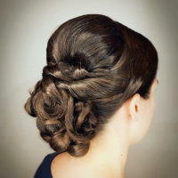 bridal updo coral gables salon