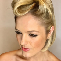 trendy updo miami salon
